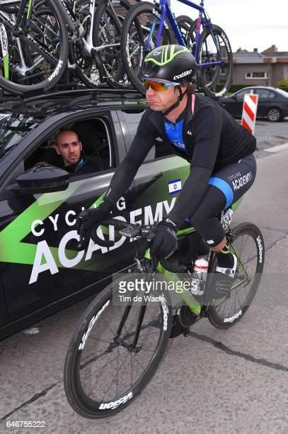 72th Omloop Het Nieuwsblad 2017 Mihkel RAIM / Ran MARGALIOT Sportsdirector Team Manager Israel Cycling Academy / Gent Gent / Flanders Classics /