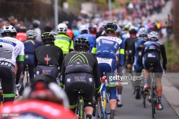 72th Omloop Het Nieuwsblad 2017 Peloton / Team Cycling Academy / Gent Gent / Flanders Classics /