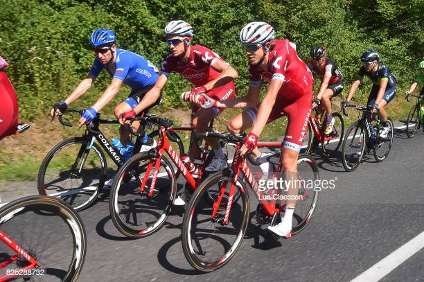 74th Tour of Poland 2017 / Stage 4 Maxim BELKOV / Ilnur ZAKARIN / Bottle / Zawiercie Zabrz / TDP / Tour de Pologne /