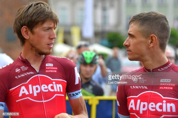 74th Tour of Poland 2017 / Team Presentation Ilnur ZAKARIN / Pavel KOCHETKOV / Rynek Glowny Market Square / Team Presentation / Tour de Pologne /