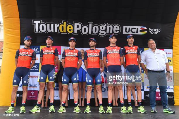74th Tour of Poland 2017 / Team Presentation Manuele BOARO / Niccolo BONIFAZIO / Antonio NIBALI / Vincenzo NIBALI / Domen NOVAK / Franco PELLIZOTTI /...