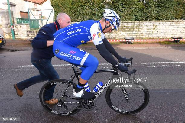 75th Paris Nice 2017 / Stage 3 Marcel KITTEL / Tom STEELS Sportsdirector / Chablis / ChalonsurSaone /