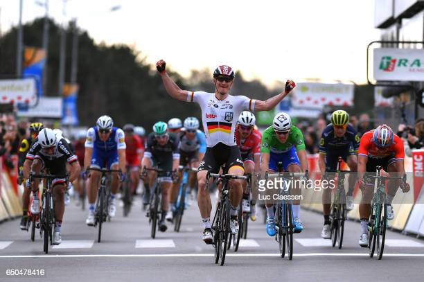 75th Paris Nice 2017 / Stage 5 Arrival / Michael MATHEWS / Marcel KITTEL / Andre GREIPEL Celebration / John DEGENKOLB / Arnaud DEMARE Green points...