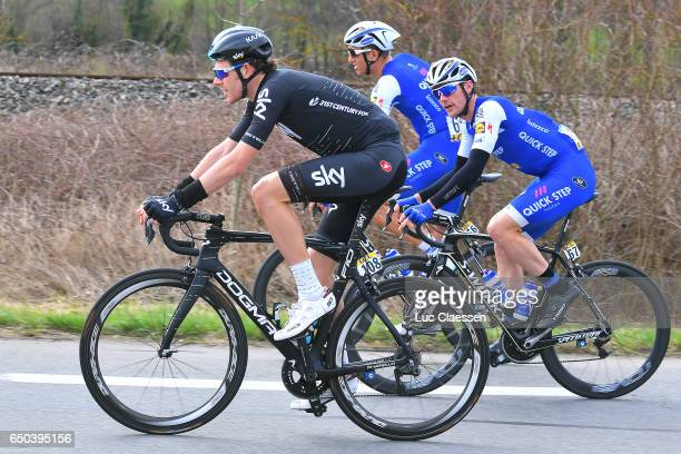 75th Paris Nice 2017 / Stage 5 Luke ROWE / Yves LAMPAERT / Marcel KITTEL / QuincieenBeaujolais BourgdePeage /