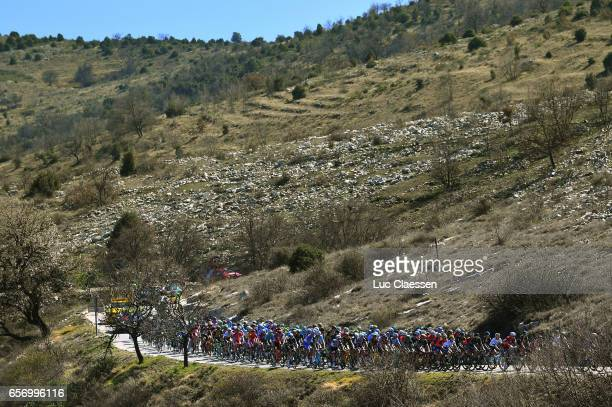 75th Paris Nice 2017 / Stage 7 Landscape / Peloton / Mountains / Nice Col de la Couillole 1678m / ©Tim De WaeleLC/Tim De Waele/Corbis via Getty Images