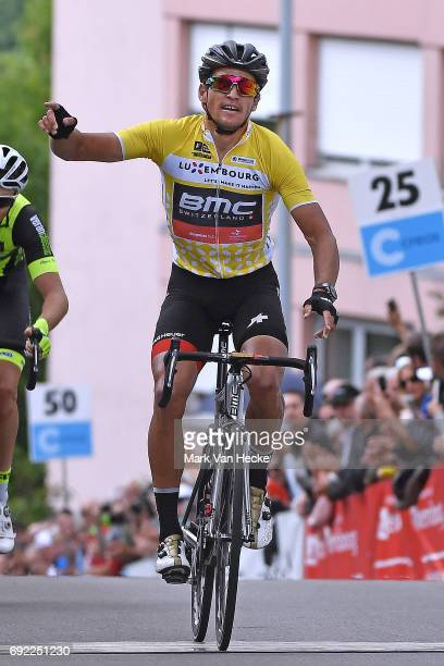 77th Tour of Luxembourg 2017 / Stage 4 Arrival / Greg VAN AVERMAET Yellow Leader Jersey / Celebration / Mersch Luxembourg /