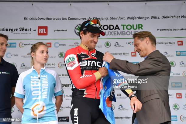 77th Tour of Luxembourg 2017 / Stage 4 Podium / Greg VAN AVERMAET Blue Points Jersey / Celebration / Mersch Luxembourg /