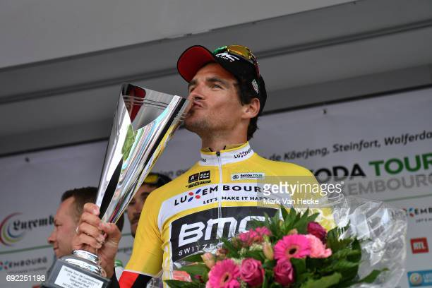 77th Tour of Luxembourg 2017 / Stage 4 Podium / Greg VAN AVERMAET Yellow Leader Jersey / Celebration / Mersch Luxembourg /