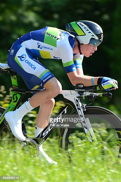 77th Tour of Swiss 2013 / Stage 9 MEYER Cameron / Bad Ragaz Flumserberg / Time Trial Contre la Montre Tijdrit TT / Tour de Suisse Ronde Zwitserland /...