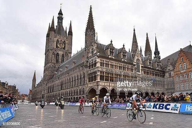 78th Gent Wevelgem 2016 SAGAN Peter / CANCELLARA Fabian / VANMARCKE Sep / KUZNETSOV Viacheslav / Illustration Illustratie / IEPER City Ville Stad...