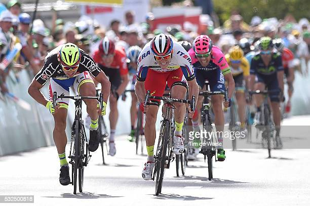 79th Tour of Swiss 2015 / Stage 7 Arrival Sprint / KRISTOFF Alexander / SAGAN Peter Black points Sprint Jersey / Biel Dudingen / Tour de Suisse Ronde...