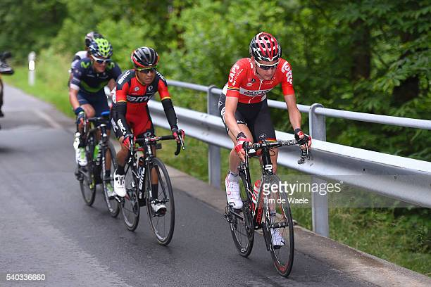 80th Tour of Swiss 2016 / Stage 5 Tim WELLENS / John Darwin ATAPUMA / Winner ANACONA GOMEZ / BrigGlis Cari 1626m / TDS /