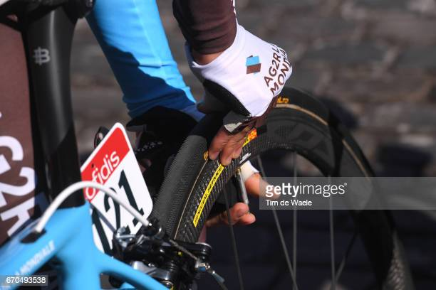 81st La Fleche Wallonne 2017 Men Illustration / Continental Tire pressure / Team AG2R La Mondiale / Binche Mur de Huy / Waalse Pijl /