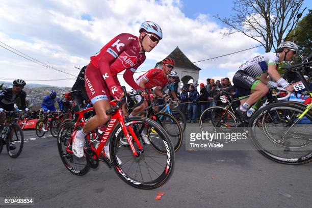 81st La Fleche Wallonne 2017 / Men Viatcheslav KUZNETSOV / Grand Place de Binche Mur de Huy / Waalse Pijl / Men /