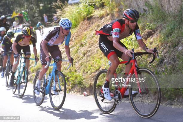 81st Tour of Switzerland 2017 / Stage 4 Damiano CARUSO / Mathias FRANK / Steven KRUIJSWIJK / Bern VillarssurOllon 1327m / TDS/