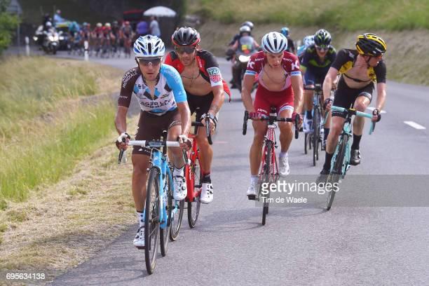 81st Tour of Switzerland 2017 / Stage 4 Domenico POZZOVIVO / Damiano CARUSO / Simon SPILAK / Steven KRUIJSWIJK / Bern VillarssurOllon 1327m / TDS/