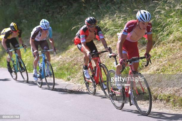 81st Tour of Switzerland 2017 / Stage 4 Simon SPILAK / Damiano CARUSO / Mathias FRANK / Steven KRUIJSWIJK / Bern VillarssurOllon 1327m / TDS/