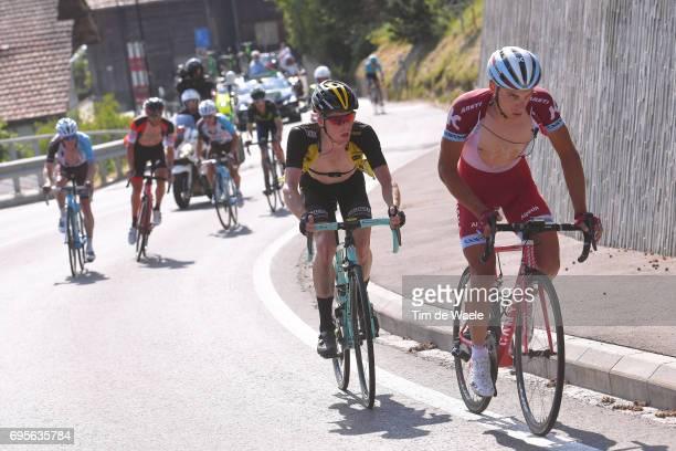 81st Tour of Switzerland 2017 / Stage 4 Simon SPILAK / Steven KRUIJSWIJK / Bern VillarssurOllon 1327m / TDS/