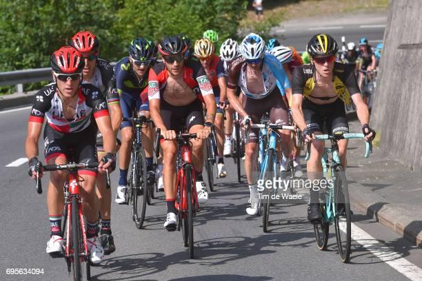 81st Tour of Switzerland 2017 / Stage 4 Steven KRUIJSWIJK / Mathias FRANK / Damiano CARUSO / Rui FARIA DA COSTA / Valerio CONTI / Bern...