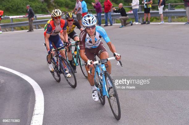 81st Tour of Switzerland 2017 / Stage 6 Domenico POZZOVIVO / Steven KRUIJSWIJK / Jon IZAGUIRRE INSAUSTI / Locarno La Punt Chamuesch 1695m / TDS/