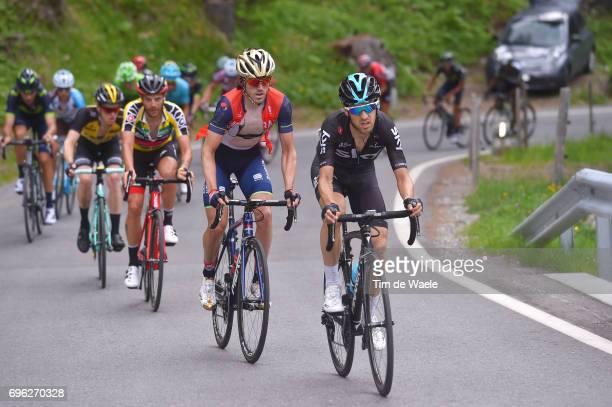 81st Tour of Switzerland 2017 / Stage 6 Mikel NIEVE ITURALDE / Jon IZAGUIRRE INSAUSTI / Damiano CARUSO Yellow Leader Jersey /Steven KRUIJSWIJK /...