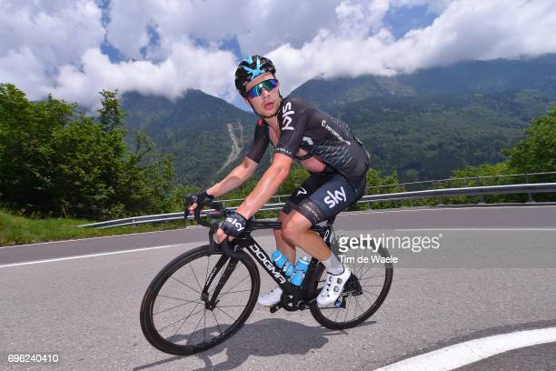 81st Tour of Switzerland 2017 / Stage 6 Owain DOULL / Locarno La Punt Chamuesch 1695m / TDS/