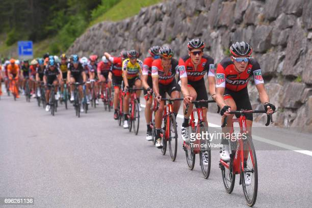 81st Tour of Switzerland 2017 / Stage 6 Rohan DENNIS / Martin ELMIGER / Greg VAN AVERMAET / Damiano CARUSO Yellow Leader Jersey / Team BMC Racing...