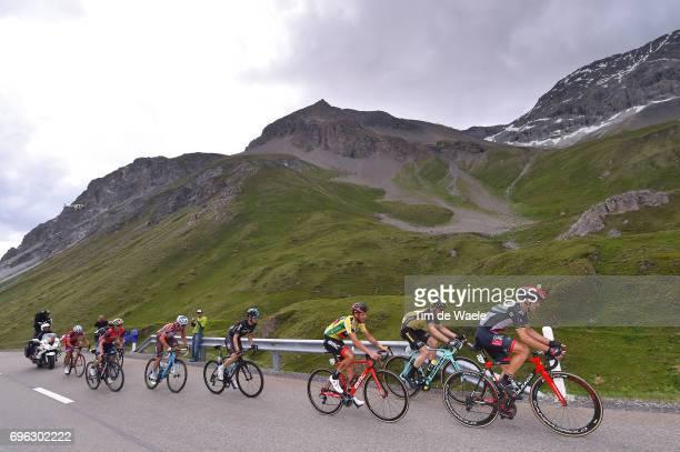 81st Tour of Switzerland 2017 / Stage 6 Rui FARIA DA COSTA / Damiano CARUSO Yellow Leader Jersey / Steven KRUIJSWIJK / Mikel NIEVE ITURALDE / Mathias...