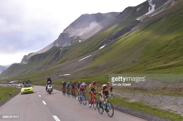 81st Tour of Switzerland 2017 / Stage 6 Steven KRUIJSWIJK / Damiano CARUSO Yellow Leader Jersey / Mathias FRANK Red Best Swiss Rider Jersey / Mikel...