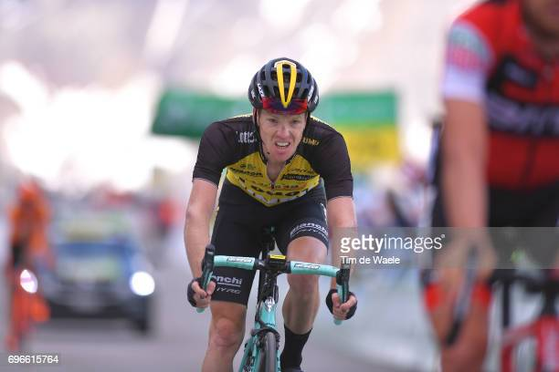 81st Tour of Switzerland 2017 / Stage 7 Arrival / Steven KRUIJSWIJK / Zernez SoldenTiefenbachferner 2780m / TDS/