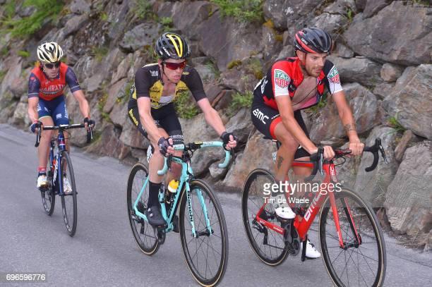 81st Tour of Switzerland 2017 / Stage 7 Damiano CARUSO / Steven KRUIJSWIJK / Jon IZAGUIRRE INSAUSTI / Zernez SoldenTiefenbachferner 2780m / TDS/
