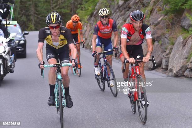 81st Tour of Switzerland 2017 / Stage 7 Damiano CARUSO / Steven KRUIJSWIJK / Jon IZAGUIRRE INSAUSTI / Jan HIRT / Zernez SoldenTiefenbachferner 2780m...