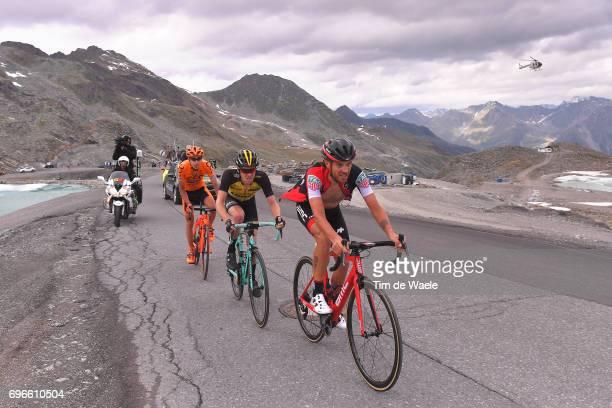 81st Tour of Switzerland 2017 / Stage 7 Damiano CARUSO / Steven KRUIJSWIJK / Jan HIRT / Zernez SoldenTiefenbachferner 2780m / TDS/
