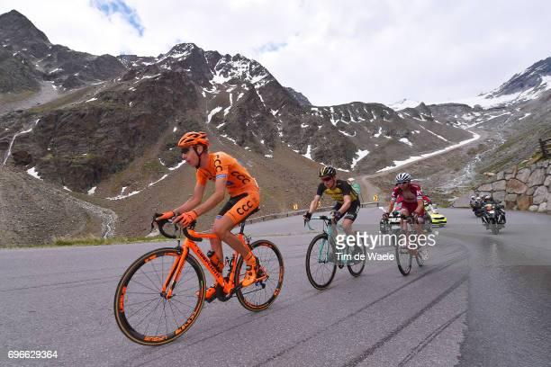 81st Tour of Switzerland 2017 / Stage 7 Jan HIRT / Steven KRUIJSWIJK / Rein TAARAMAE / Zernez SoldenTiefenbachferner 2780m / TDS/