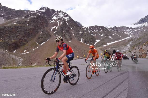 81st Tour of Switzerland 2017 / Stage 7 Jon IZAGUIRRE INSAUSTI / Jan HIRT / Steven KRUIJSWIJK / Rein TAARAMAE / Zernez SoldenTiefenbachferner 2780m /...