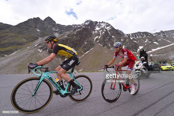 81st Tour of Switzerland 2017 / Stage 7 Steven KRUIJSWIJK / Rein TAARAMAE / Zernez SoldenTiefenbachferner 2780m / TDS/