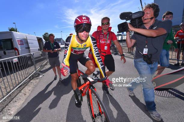 81st Tour of Switzerland 2017 / Stage 9 Arrival / Simon SPILAK Yellow Leader Jersey/ Schaffhausen Schaffhausen / ITT/ Individual Time Trial/ TDS/
