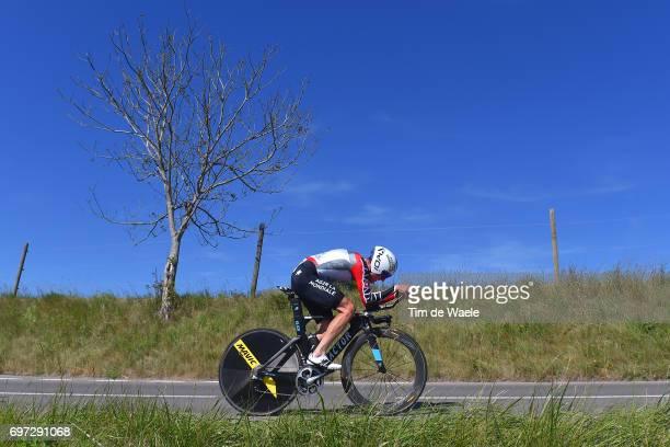 81st Tour of Switzerland 2017 / Stage 9 Mathias FRANK Red Best Swiss Rider Jersey/ Schaffhausen Schaffhausen / ITT/ Individual Time Trial/ TDS/