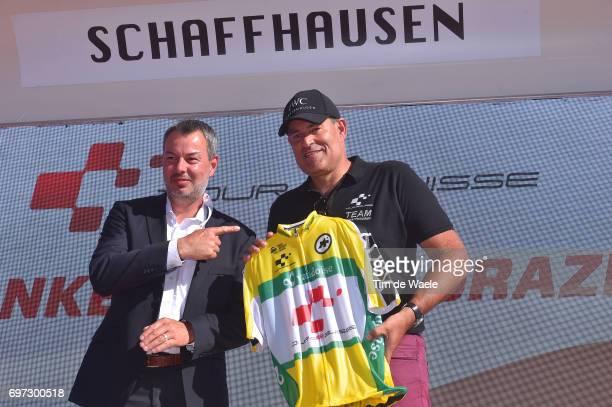 81st Tour of Switzerland 2017 / Stage 9 Podium / David LOOSLI Race Director / Celebration / Schaffhausen Schaffhausen / ITT/ Individual Time Trial/...