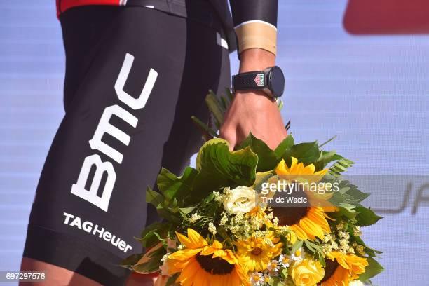 81st Tour of Switzerland 2017 / Stage 9 Podium / Greg VAN AVERMAET / Illustration / Flowers / Tag Heuer Watch / Schaffhausen Schaffhausen / ITT/...