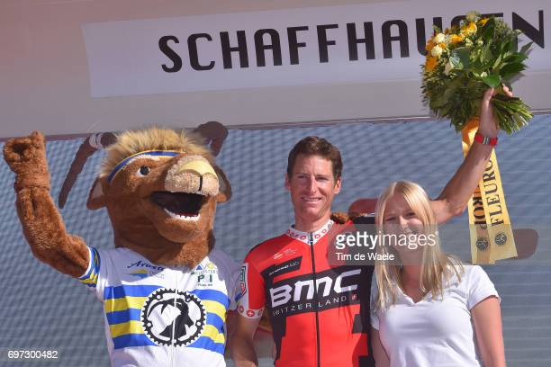 81st Tour of Switzerland 2017 / Stage 9 Podium / Martin ELMIGER / Celebration / Mascot/ Schaffhausen Schaffhausen / ITT/ Individual Time Trial/ TDS/