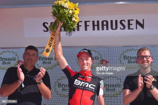81st Tour of Switzerland 2017 / Stage 9 Podium / Rohan DENNIS / Celebration / Schaffhausen Schaffhausen / ITT/ Individual Time Trial/ TDS/