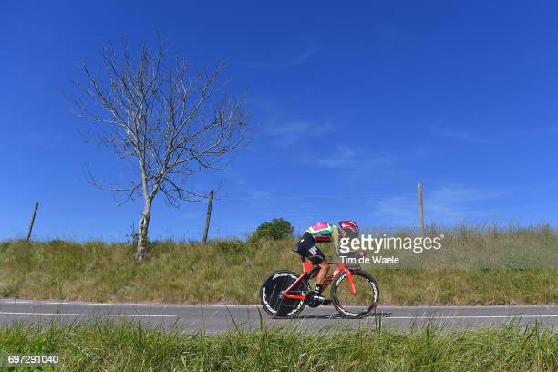 81st Tour of Switzerland 2017 / Stage 9 Simon SPILAK Yellow Leader Jersey/ Schaffhausen Schaffhausen / ITT/ Individual Time Trial/ TDS/