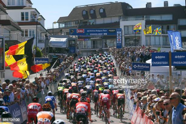 87th Tour of Belgium 2017 / Stage 1 Landscape / Arrival / Peloton / Lochristi Knokke Heist / Baloise / Tour of Belgium /