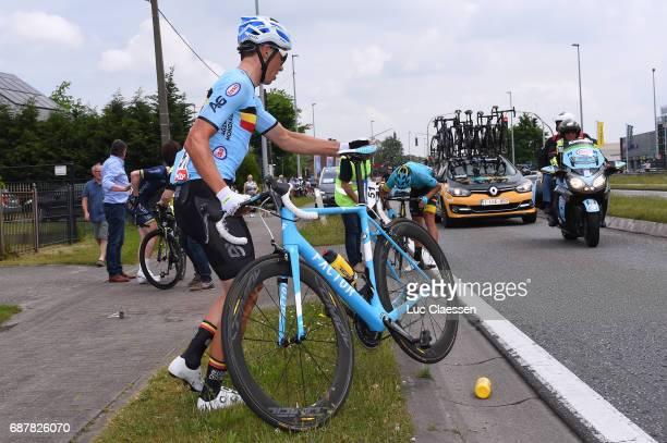 87th Tour of Belgium 2017 / Stage 1 Oliver NAESEN Crash / Lochristi Knokke Heist / Baloise / Tour of Belgium /