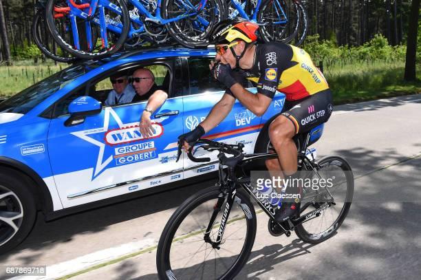 87th Tour of Belgium 2017 / Stage 1 Philippe GILBERT / Hilaire VANDERSCHUEREN Sportsdirector / Team Wanty Groupe Gobert / Lochristi Knokke Heist /...