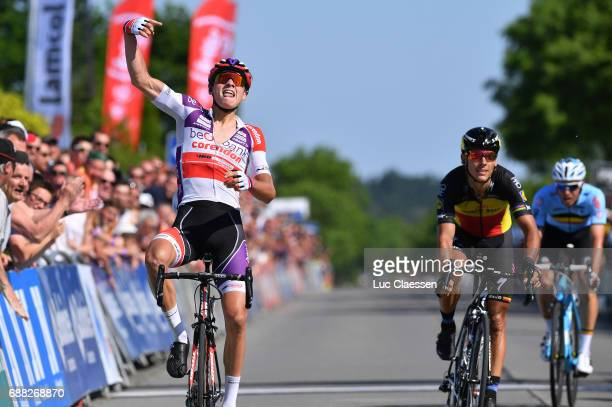 87th Tour of Belgium 2017 / Stage 2 Arrival / Mathieu VAN DER POEL Celebration / Philippe GILBERT / Knokke Heist Moorslede / Baloise / Tour of...