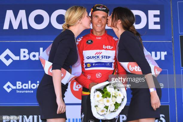 87th Tour of Belgium 2017 / Stage 2 Podium / Philippe GILBERT Red leaders jersey Celebration / Miss / Knokke Heist Moorslede / Baloise / Tour of...