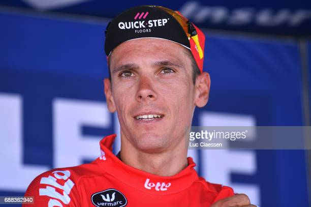 87th Tour of Belgium 2017 / Stage 2 Podium / Philippe GILBERT Red leaders jersey Celebration / Knokke Heist Moorslede / Baloise / Tour of Belgium /