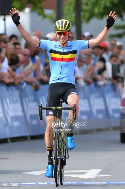 87th Tour of Belgium 2017 / Stage 5 Arrival / Jens KEUKELEIRE / Celebration / Tienen Tongeren / Baloise / Tour of Belgium /